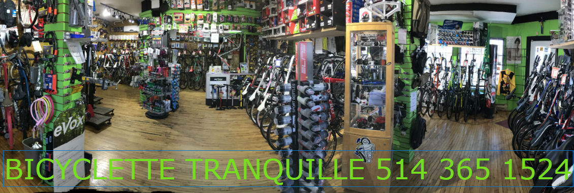 Bicyclette tranquille 9611 Blvd Lasalle 514 365 1524
